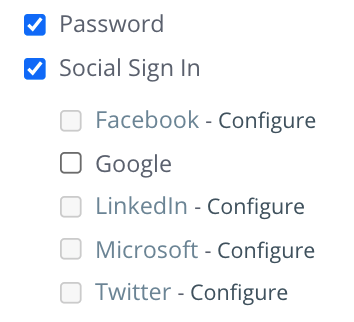 OAuth 2.0 - Social Sign In