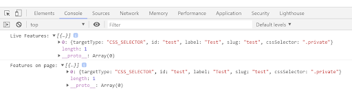 Testing an In-Browser Rule