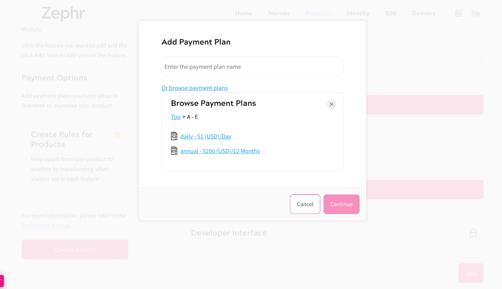 Chargify - Payment Plans